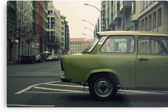 Wandering : Berlin 2 by Jeremy  Barré