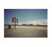 8000 miles USA : Nevada1 Art Print