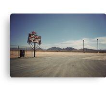 8000 miles USA : Nevada1 Canvas Print