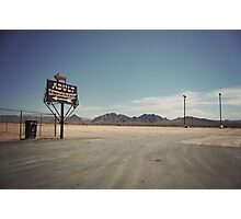 8000 miles USA : Nevada1 Photographic Print