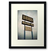 8000 miles USA : On the road 1 Framed Print