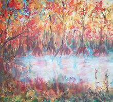 Red Wetland by Mary Sedici