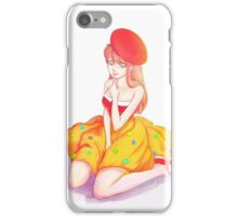 dessert girl iPhone Case/Skin