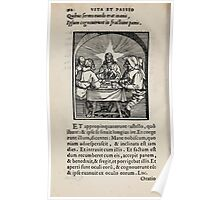 Contemplation Life and Passion Our Lord Jesus Christ Albrecht Durer 1557 0096 Poster