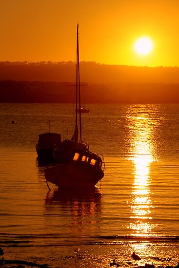 Skerries Harbour October Sunset  by Martina Fagan