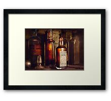 Apothecary - Domestic Remedies  Framed Print