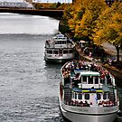 Autumn, Chicago River by James Watkins
