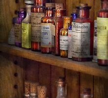 Apothecary - Inside the Medicine Cabinet  by Mike  Savad