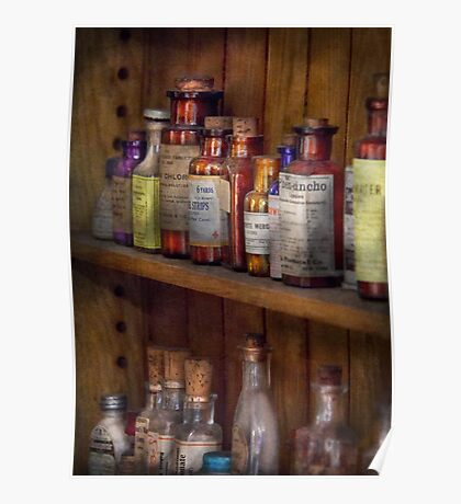 Apothecary - Inside the Medicine Cabinet  Poster