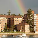 end of the rainbow, on the edge of sydney harbour.  by mellychan