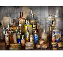 Apothecary - For all your Aches & Pains  Photographic Print