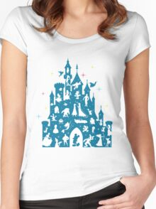 Most Magical Castle Women's Fitted Scoop T-Shirt