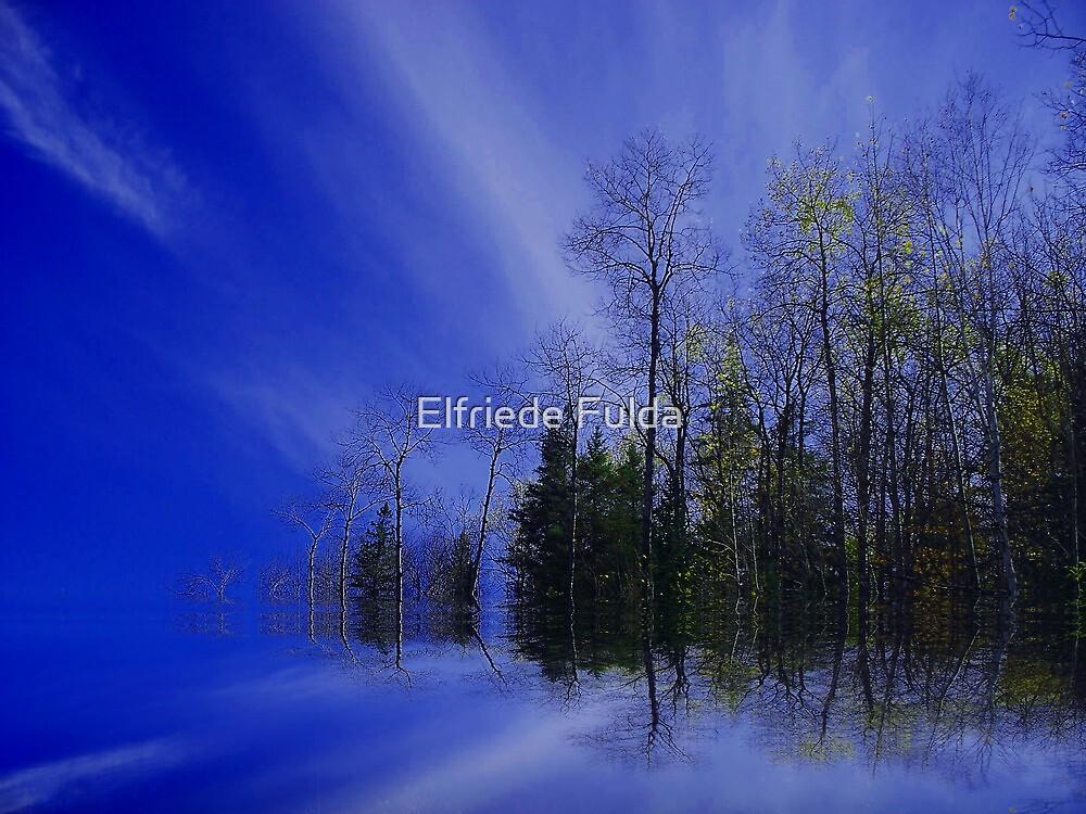 """Northern Lights"" by Elfriede Fulda"
