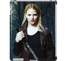 "Emma Swan Comic Poster ""The Dark One"" Logoless Design iPad Case/Skin"