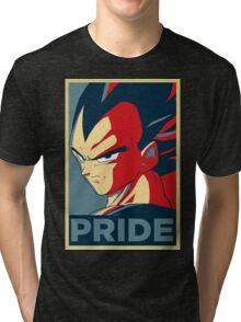 Vegeta Pride  Tri-blend T-Shirt
