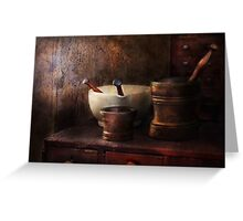 Apothecary - Pick a Pestle  Greeting Card