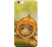 Baby monkey iPhone Case/Skin