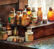 Apothecary - Chemical Ingredients  by Mike  Savad