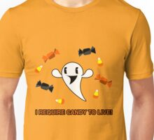 I Require Candy To Live! Unisex T-Shirt