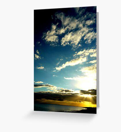 I See Skies of Blue Greeting Card