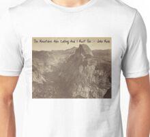 Muir - Yosemite Mountains Unisex T-Shirt