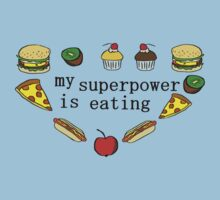 My superpower is eating One Piece - Short Sleeve