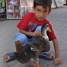 Little Duck Friend by ApeArt