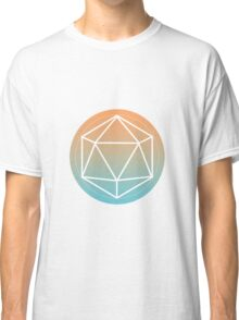 Icosahedron outline Classic T-Shirt