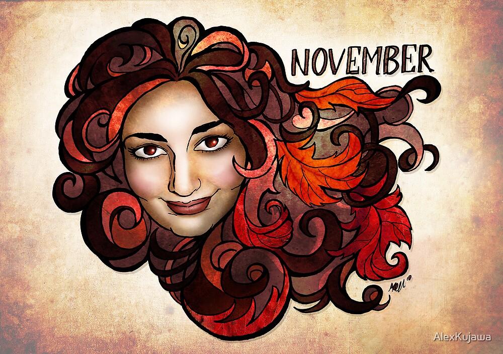 Amy of November by AlexKujawa