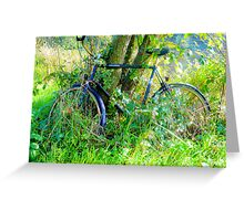 Commando bike Greeting Card