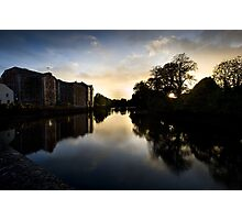 UpRiver On The Lee By The Maltings Photographic Print