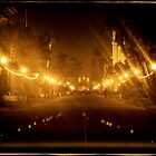 San Diego Winter Night -- Balboa Park by Eric Gangnath