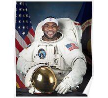 Lebron James Astronaut Poster
