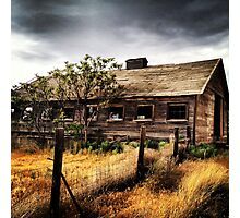 Weather Barn in Fields of Gold Photographic Print