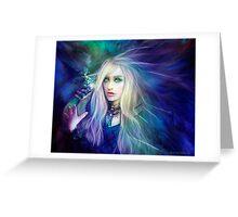 Sapphire Blue Greeting Card