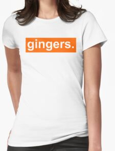 gingers.  Womens Fitted T-Shirt