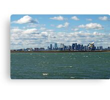Beautiful Boston on a Breezy Day. Canvas Print