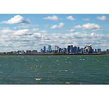 Beautiful Boston on a Breezy Day. Photographic Print