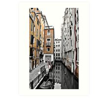 San Marco Alley HDR Art Print