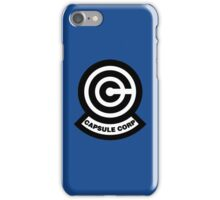 Capsule Corp Logo iPhone Case/Skin