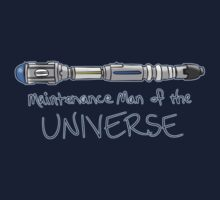 Doctor Who - Maintenance Man of the Universe by jemscribbles