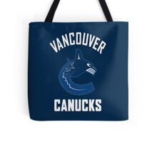 Canucks Tote Bag