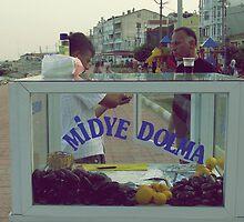 Stuffed mussels,TURKEY by rasim1