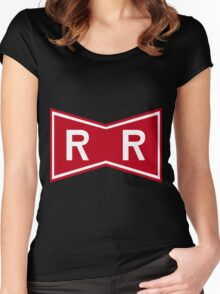 Red Ribbon Army Logo Women's Fitted Scoop T-Shirt