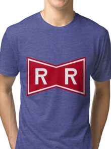 Red Ribbon Army Logo Tri-blend T-Shirt