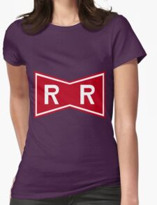 Red Ribbon Army Logo Womens Fitted T-Shirt