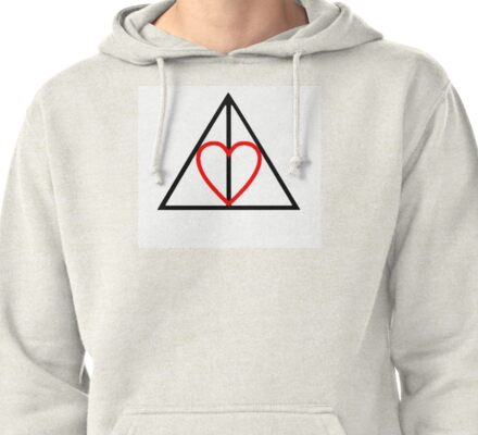 Deathly Hallows<3 Pullover Hoodie
