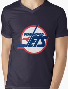 Jets Mens V-Neck T-Shirt