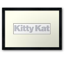 Pulp Fiction - Kitty Kat Framed Print