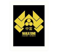 Nakatomi Plaza Art Print